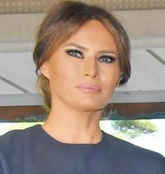メラニア米大統領夫人 韓国の話ばかりする昭恵夫人に疑問符