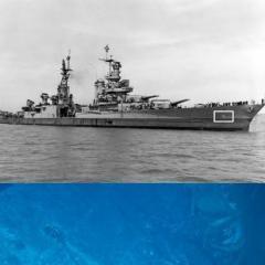 広島・長崎の原爆運んだ米軍艦 フィリピン海で残骸見つかる