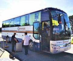 フィリピン マニラ-クラーク空港連絡バス、SMクラークに停留所