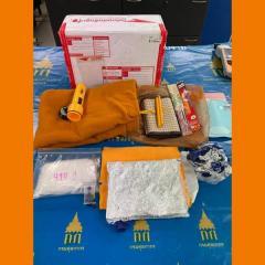 僧侶グッズに覚せい剤を隠す、スワンナプーム空港で小包を発見のイメージ画像