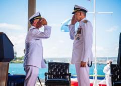 アメリカ海軍太平洋艦隊司令官にパパロ大将就任 日本経験もある元トップガンのイメージ画像