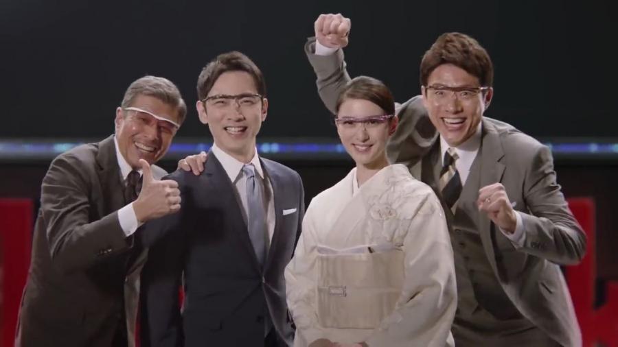 ハズキルーペの新CM公開!松岡修造が出演でやりたい放題!