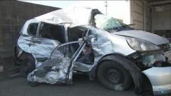乗用車とトラックが正面衝突 20歳の女性死亡 宮城・涌谷町
