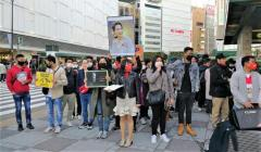 ミャンマー国軍の暴挙に抗議するデモ・東京 池袋で日本人の賛同を得たいと署名活動のイメージ画像