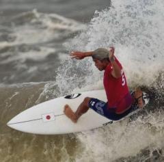 【東京五輪】サーフィン男子、五十嵐カノアが銀メダル!のイメージ画像