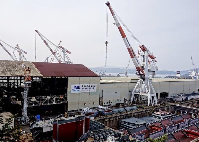 旧帝国海軍の戦艦「大和」を建造