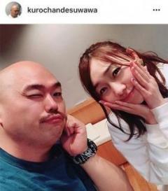 クロちゃんSKE48須田亜香里と熱愛の噂