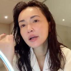 長谷川京子、風呂上がりの完璧なすっぴんで圧倒「神的にキレイ」のイメージ画像
