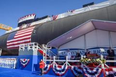 アメリカ原子力潜水艦リッコーヴァー命名式 由来はアメリカ「原子力海軍の父」のイメージ画像