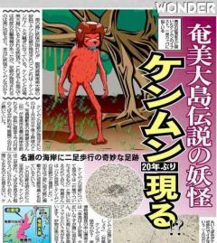 地元民がハブより恐れる「妖怪ケンムン」の目撃談 奄美、沖縄が世界自然遺産登録へのイメージ画像