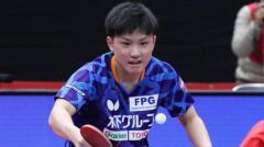 張本智和、快勝スタート 台湾の39歳寄せ付けず<卓球・WTTコンテンダードーハ>のイメージ画像