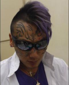 顔面刺青の瓜田純士が井岡タトゥー問題を斬る「当然ダメ」「単純にかっこつけてる」のイメージ画像