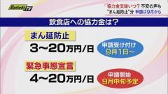 静岡県 協力金の支給はいつ?苦境の飲食店「少しでも早く」のイメージ画像