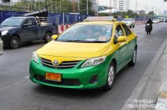 バンコクのタクシー運転手が路上で射殺される、走行中のトラブルでのイメージ画像