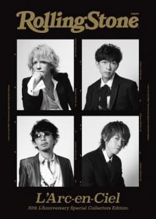 L'Arc~en~Cielデビュー30年の軌跡を追った特別本がRolling Stone Japanより日本人アーティスト初の別冊として発売のイメージ画像