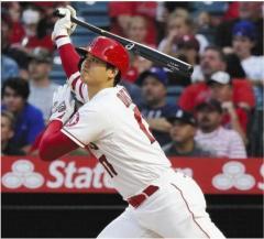 【MLB】大谷翔平は再上昇を予感させる逆方向へのマルチ安打!! 日本時間20日は103年ぶりの偉業達成へ先発登板のイメージ画像