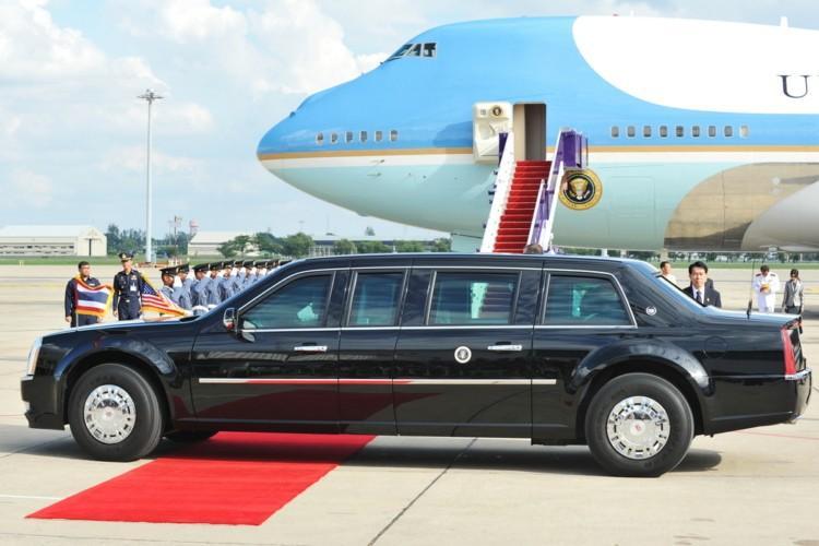 米大統領ら、超一流のVIPだけが乗る事を許された専用車とは?