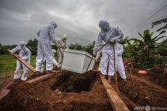 世界のコロナ感染、1億人に AFP集計のイメージ画像