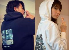 三浦翔平&桐谷美玲、夫婦でペアルック披露で大反響「仲良さが伝わる」のイメージ画像