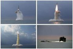 北朝鮮、潜水艦から「2000t級・新型SLBM」発射…金正恩総書記は立ち会わず=韓国報道