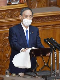 首相、施政方針でも言い間違い 「主体」を「ゼンタイ」のイメージ画像