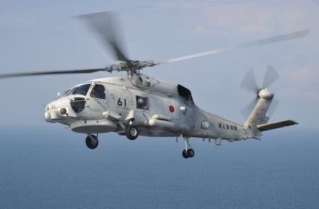 4人乗り海自ヘリ墜落か、青森沖