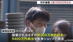 芝郵便局・元局員の男再逮捕へ 切手数千万円分を横領か 愛宕署のイメージ画像