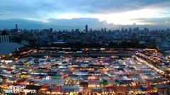 バンコクの人気ナイトマーケット「ラチャダー鉄道市場」が完全閉鎖か!?のイメージ画像