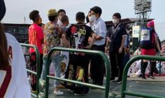 楽天対阪神戦を大声出して応援…注意した球団職員に暴行した疑いで韓国籍の男逮捕のイメージ画像