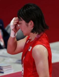 ボクシング並木月海、準決勝で敗れ銅メダル 相手のカウンター戦術崩せずのイメージ画像