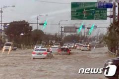 韓国の集中豪雨、継続…ソウル・仁川・京畿南部で1時間に最大40ミリ