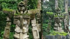 どう見ても「ガンダム」な石像がインドネシアで発見される