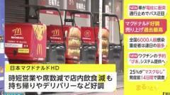 【速報】マクドナルド 売り上げ過去最高 巣ごもりでテイクアウト好調