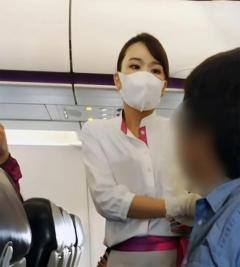 ピーチ機でマスク着用拒否、乗務員に大声で詰め寄る…運航妨害の男逮捕 大阪