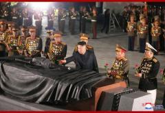 金正恩総書記「祖国解放戦争(朝鮮戦争)勝利68周年で墓参」朝鮮中央通信のイメージ画像