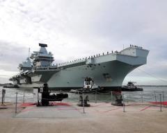 イギリス、太平洋に最新鋭空母派遣へ 中国の海洋進出を牽制