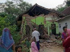 インドネシアで地震、7人死亡 M6.0、家屋300以上損壊のイメージ画像