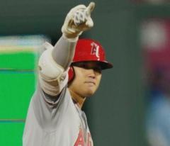 大谷翔平、弾丸192キロ2点二塁打で初の猛打賞&3打点 打率.333、エ軍は地区単独首位のイメージ画像