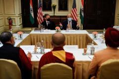 米国務長官、チベット亡命政府代表と会談 中国 アメリカのイメージ画像