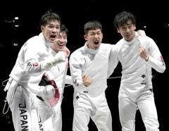 日本、フェンシング史上初の金メダル…男子エペ団体戦、最強「エペジーーン」勝利 金17個は過去最多!のイメージ画像