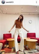 木村沙織さん、高身長女性向けパンツを履いた姿にファン衝撃「なんちゅう足の長さよ…」のイメージ画像