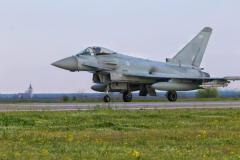 イギリス空軍戦闘機 NATO防空任務でルーマニア入りのイメージ画像