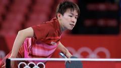 【卓球】3度目五輪の丹羽孝希、初戦突破 苦手カットを戦術で攻略のイメージ画像