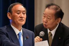 「安倍前首相」に不起訴不当の判断が下って、ほくそ笑む「菅首相・二階幹事長」のイメージ画像