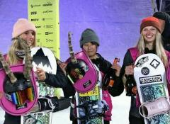 16歳の村瀬心椛、スノボW杯で初優勝…北京五輪でも実施のビッグエアのイメージ画像