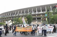 反五輪デモで国立競技場周辺は騒然…公安警察の〝抗議運動潰し〟も発覚