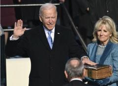 バイデン新大統領が正式就任 史上最高齢 民主党、4年ぶり政権返り咲きのイメージ画像