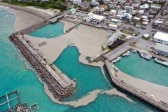 沖縄近海の軽石流入 各地に影響 人間が撤去は困難かのイメージ画像
