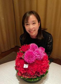 石川佳純、28歳のバースデーに笑顔で感謝 平野早矢香さんからは「可愛い 惚れる笑笑」のイメージ画像