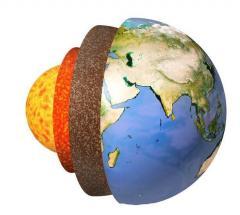 中身はドロドロの液体!? 地球の知られざる内部構造のイメージ画像